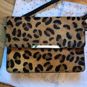 Very cute never used Petite Mendigote leopard bag